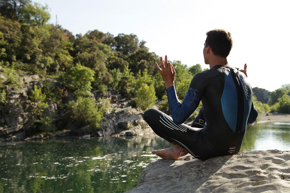 traje de neopreno (wetsuit) para triatlón Meditación
